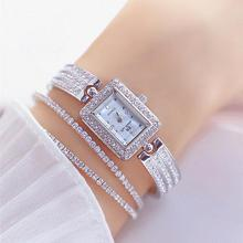 Diamond Women Watches Luxury Brand Fashion Casual Ladies Watch Women Quartz Rhinestone Lady Bracelet Wrist Watches For Women
