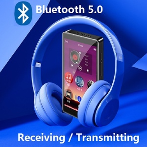 Image 1 - Newest RUIZU H1 Bluetooth MP4 Player 4.0 inch Full Touch Screen FM Radio Recording E book Music Video Player Built in SpeakerD20