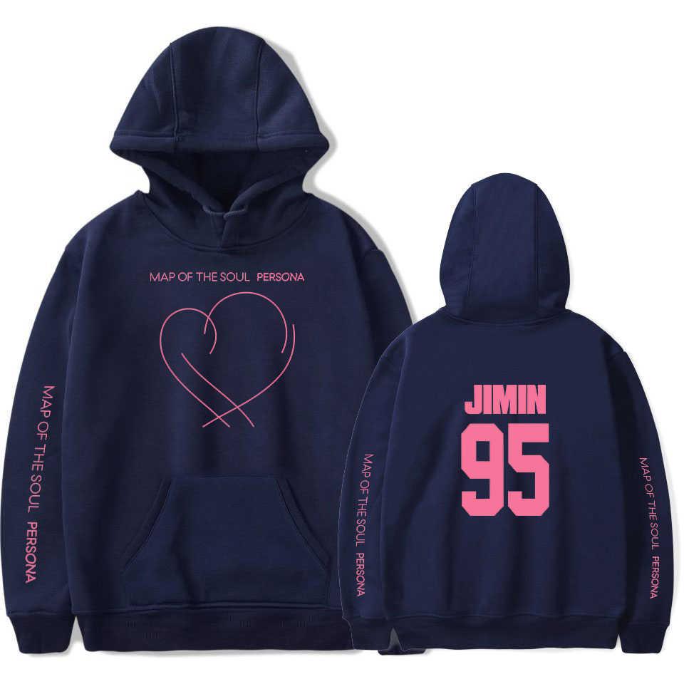 JIMIN J-HOPE JUNG KOOK SUGA новый альбом карта Soul Persona печать толстовки женские/мужские модные тонкие/флисовые одежда
