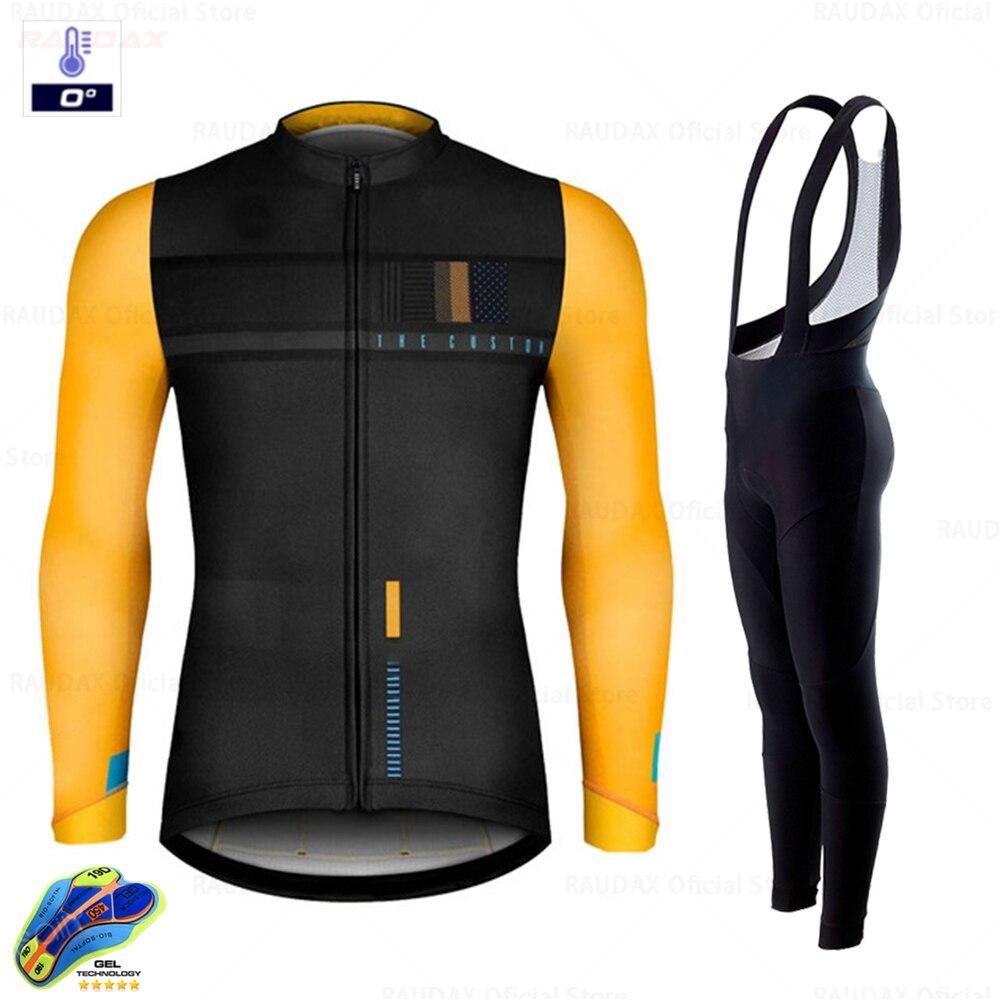2020 godbikeful Winter Hot wełna kombinezon rowerowy, mężczyźni kombinezon rowerowy Outdoor Sportswear MTB Bike Uniform zestaw rowerowy Triathlon Go bike