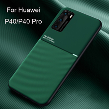 For Huawei P40 Case Original Magnetic Frosted Stripe Anti-fall Protective Cover For Huawei P20 30 Mate 30 Nova 7 7se Pro Case fashion stripe style plastic protective back case for huawei b199 multi colored
