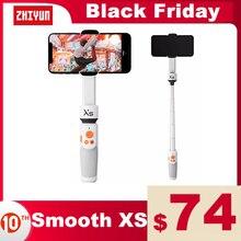 ZHIYUN oficial  SMOOTH XS  teléfono Gimbals Selfie Palo estabilizador de mano Palo teléfonos inteligentes para iPhone Huawei Xiaomi Redmi note de Samsung