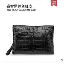 gete Mens clutch bag new envelope mens leather grasp leisure crocodile skin hand belly man