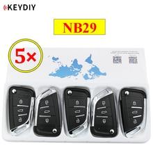 5 ชิ้น/ล็อต KEYDIY 3 ปุ่มรีโมทคอนโทรล NB29 NB Series Universal สำหรับ KD900 URG200 KD X2 ฟังก์ชั่นทั้งหมด in One