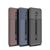 style protective For OPPO Reno 2 Case Business Style Silicone Rubber Shell TPU Back Phone Cover For OPPO Reno2 Protective Case For OPPO Reno 2 (1)