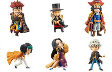 One Piece Doll WCF Series 106 S 6-One Piece Arrival, High about 8CM, OPP in Bags(China)