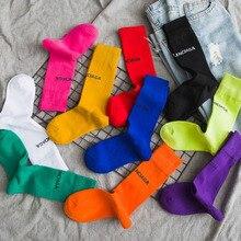 Harajuku Cotton Cute Candy Color Socks Casual Women Short Piles Heap Socks Fashion Solid Color Simple Sox Girl's Sokken Hosiery