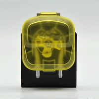 Miniature Peristaltic Pump 24V/12V DC Brushed with Norprene Pump Tube Motor Separation Dishwashing Facilities for Home and Work