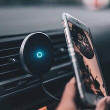מגנטי אלחוטי מטען לרכב מחזיק עבור iPhone 11 XS XR X 8 בתוספת מגנט רכב מחזיק טלפון אלחוטי מטען עבור סמסונג גלקסי S9