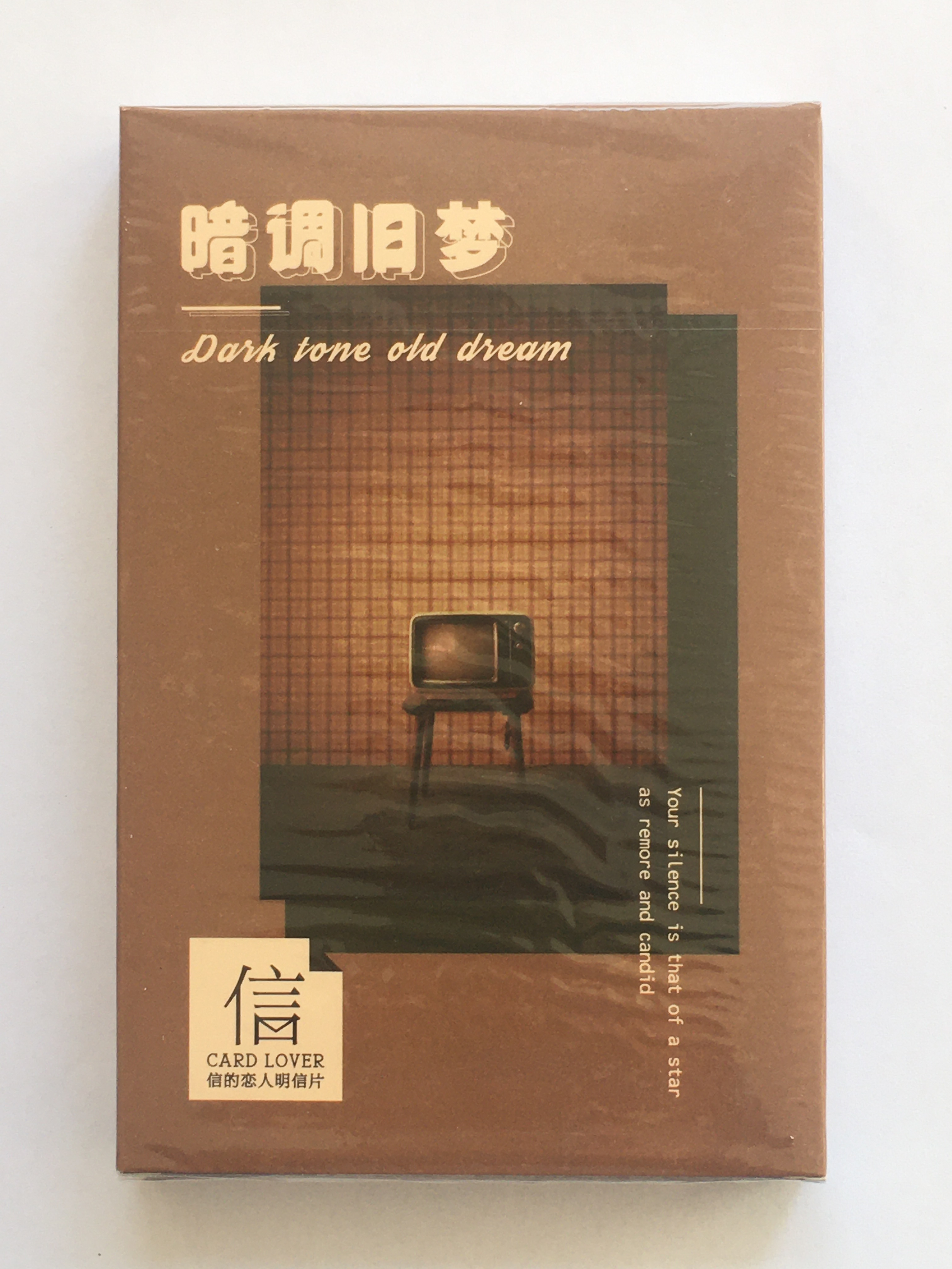 Dark Dream Paper Postcard(1pack=30pieces)