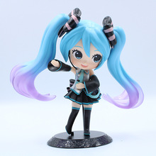 Lensple Hatsune Miku lovely Action Figure PVC Toys Collection Doll Anime Cartoon Model For Gift