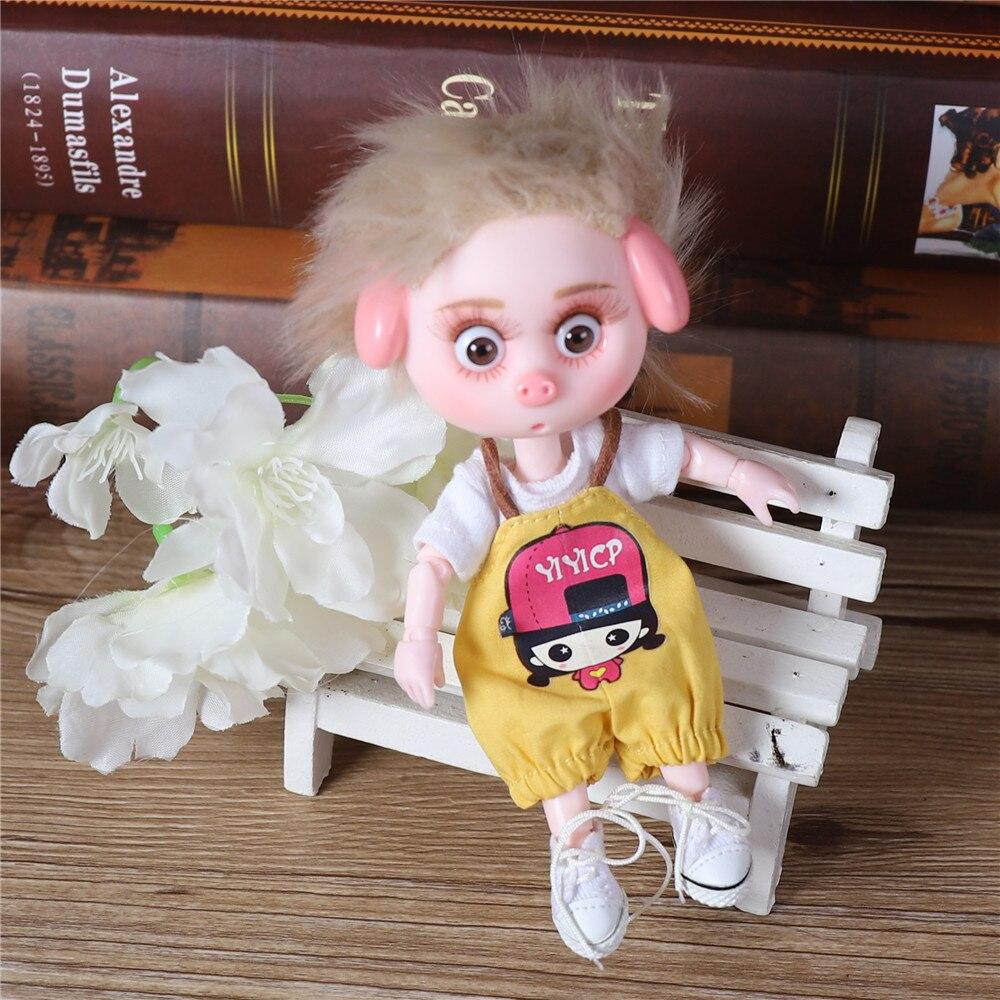 Dream Fairy 1/12 BJD DODO Doll 14cm mini doll 26 joint body Cute children gift toy ob11 7