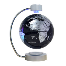 8 inch Maglev Globe Self Rotating Large Creative Craft Magnetic Levitation Globe Study Office English version Educational Gifts