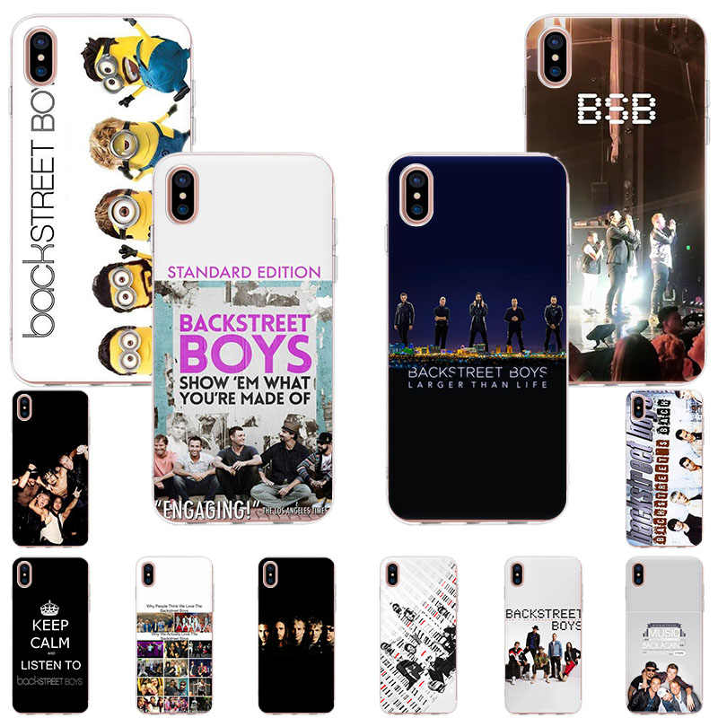 Telefoon Case Voor Iphone 11 Pro X Xr Xs Max 7 8 6 6S Plus 5 5S Se tpu Zachte Siliconen Backstreet Boys Komen Terug Fashion Cases Cover