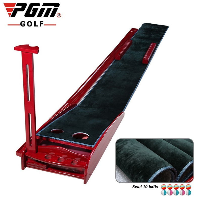 PGM Genuine Extended Version Golf Putting Practice Indoor Golf With Track High Quality Velvet 3m Korean Style Of The Exerciser