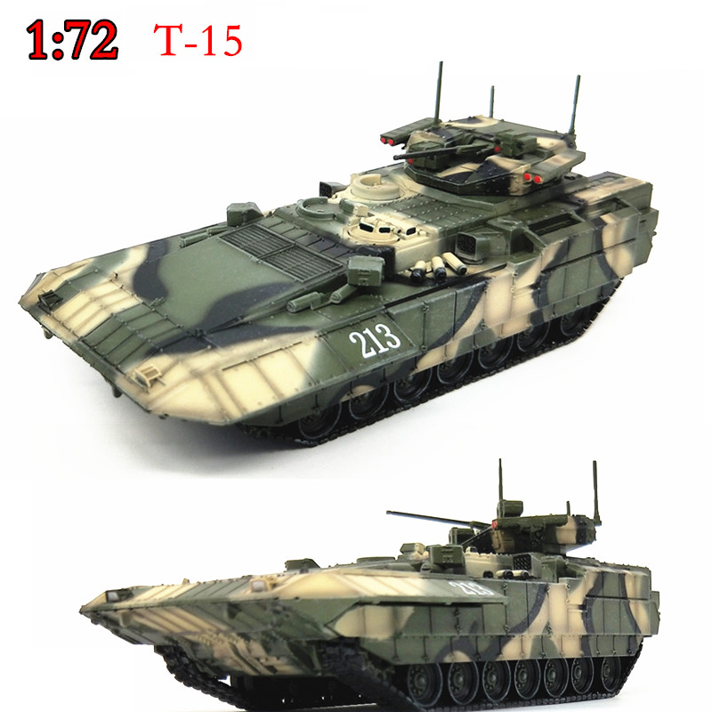 1:72  Russian T-15  Heavy Infantry Tank Model  Alloy Chassis  Collection Model