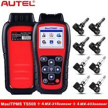 Autel MaxiTPMS TS508 TPMS Diagnostica e Servizio Strumento di Pressione Dei Pneumatici Sistema di Monitoraggio