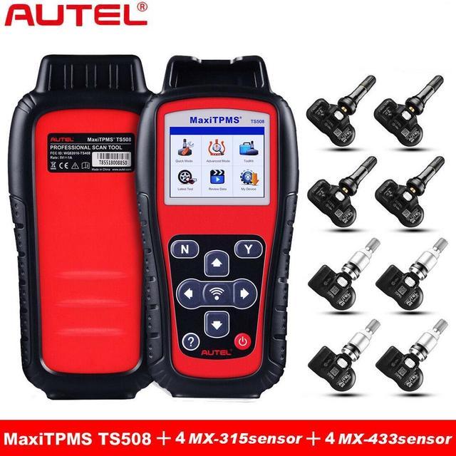 Autel MaxiTPMS TS508 TPMS אבחון ושירות כלי צמיג לחץ ניטור מערכת