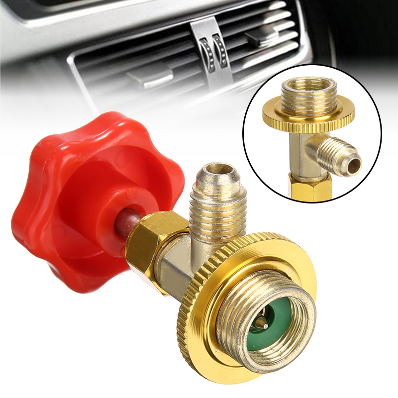 1PC SAE Auto AC Can Tap Valve Bottle Opener Fit R134a Air Refrigerant M14 / 1/4