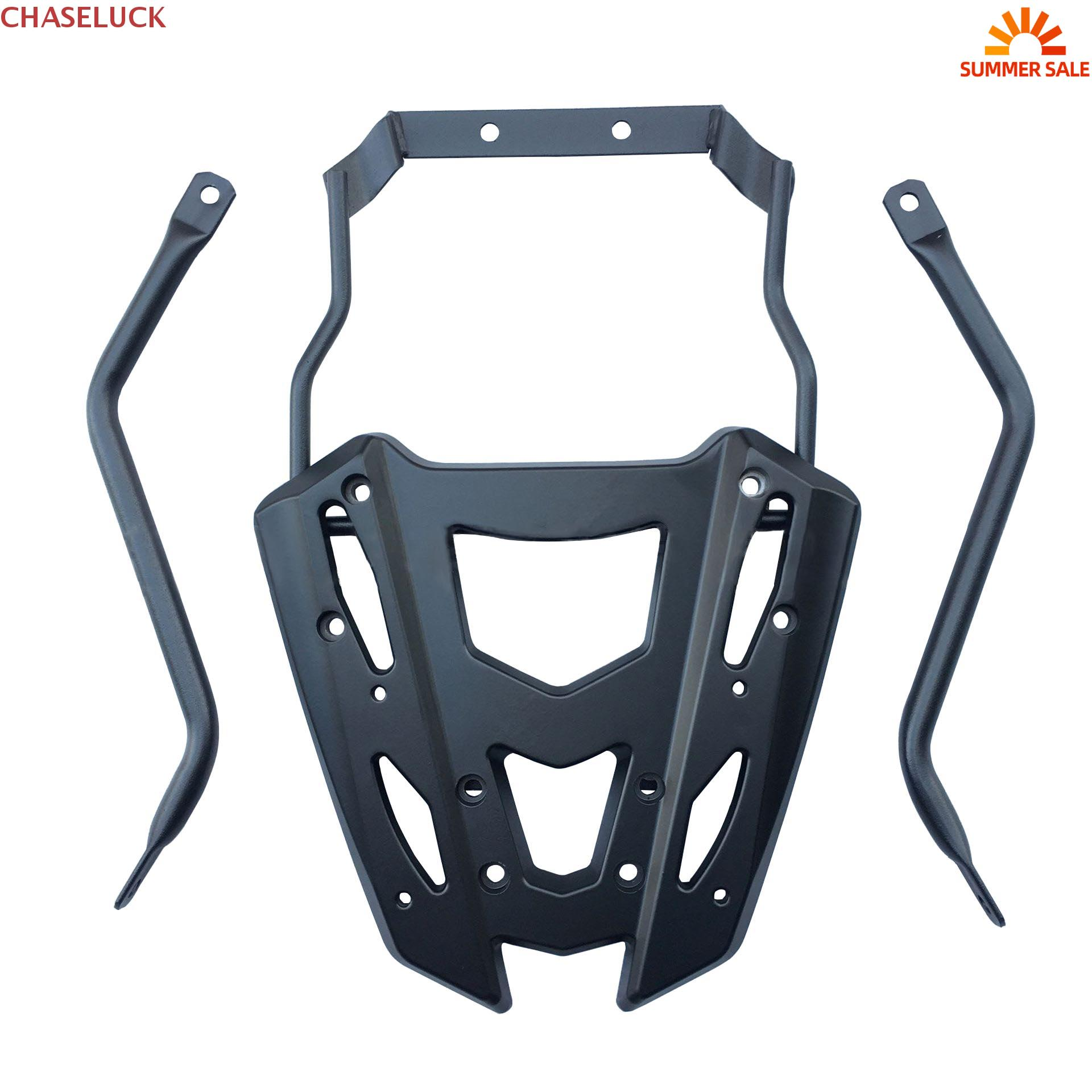 For Yamaha Aerox155 NVX155 <font><b>NVX</b></font> <font><b>Aerox</b></font> <font><b>155</b></font> Rear Top Tail Luggage Trunk Rack Cargo Holder Tool Box Bracket Tailstock Hand Bar Grab image