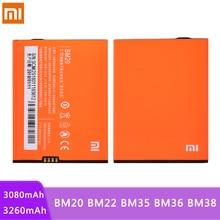 BM20 BM22 BM35 BM36 BM38 Batterie Für Xiaomi Mi 5 5S 4C 4S 2 2S Mi2 Mi5 mi4C Ersatz Bateria Reale Kapazität Batterien
