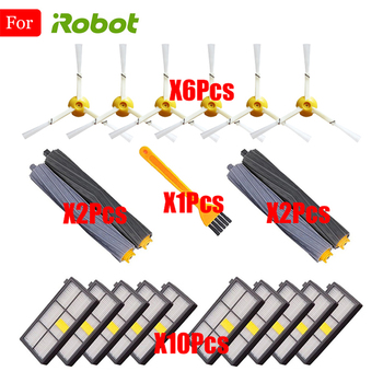 Sweeping Robot Accessories HEPA Filter For iRobot Roomba 800 900 Series 860 865 870 880 980 Replacements Parts Spare Brushes Kit 10pcs hepa filter for irobot roomba 800 900 series 870 880 980 filters vacuum robots replacements cleaner parts accessory