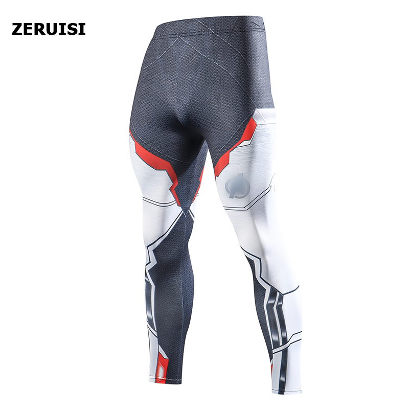 2019 Compression Pants Running Tights Men Training Pants Fitness Streetwear Leggings Men Gym Jogging Trousers Sportswear Pants 8