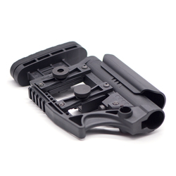 Adjustable Extended  Buttstock for Air Guns CS Airsoft Tactical BD556 M4 AR Nylon Stock Paintball Accessories