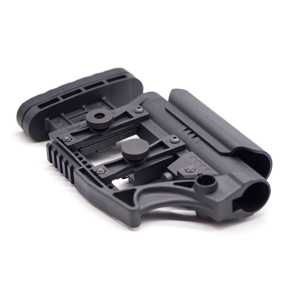 Adjustable Extended Buttstock for Air Guns CS Airsoft Tactical BD556 M4 AR Nylon Stock Paintball Accessories image