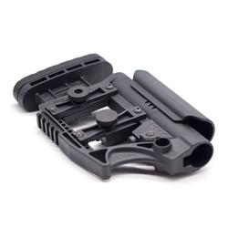 Verstelbare Extended Buttstock voor Air Guns CS Airsoft Tactical BD556 M4 AR Nylon Voorraad Paintball Accessoires