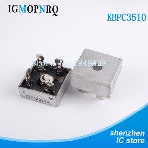 2PCS/LOT KBPC3510 35A 1000V DIP Diode Bridge Rectifier Original Free Shipping
