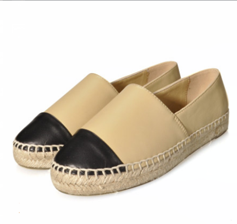 2020 Woman Flats Genuine Leather Creepers Platform Shoes Ladies Loafers Moccasins High-quality Luxury Brands Big Size 34-42