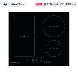 Construido-en placas de zigman y Shtain CI 34,6 B de cerámica de vidrio vitrocerámica para cocina electrodomésticos de negro de cuatro-cocina encimera de cocina panel de Cocina eléctrica vitrocerámica cocina unidad de superficie
