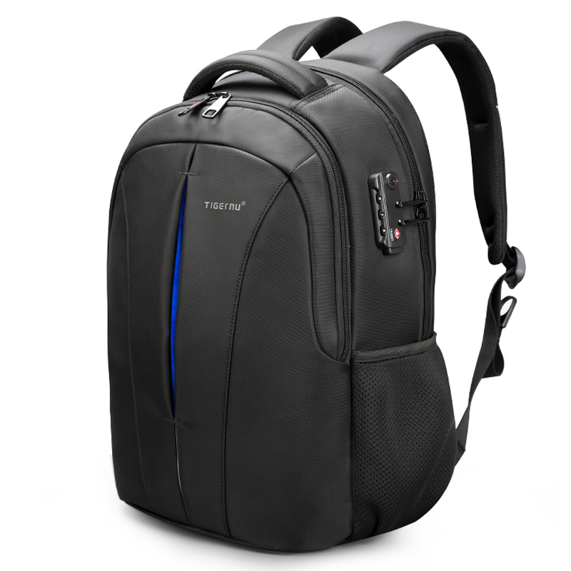 Tigernu Brand USB Charging Male Mochilas 15 6 Laptop Waterproof Backpacks For Men Anti Theft School