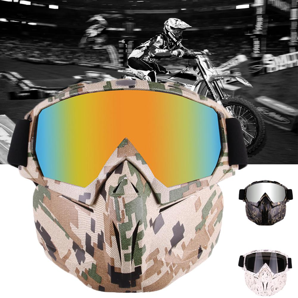 The New Stylish Winter Motorcycle Snowmobile Helmet Goggles Mask Motocross Windproof Glasses