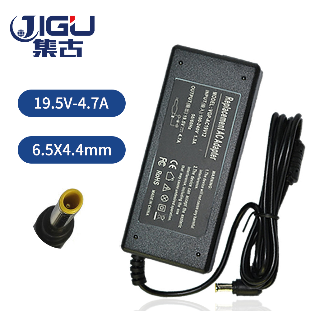 JIGU 4.7 6.5*4.4MM 90W Replacement For SONY Laptop AC Charger Power Adapter Input 100-240V free shipping
