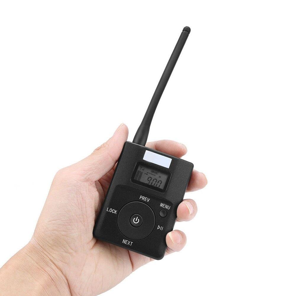 Radio stéréo Portable Mini rapide FM émetteur 3.5mm Aux adaptateur de diffusion sans fil Support TF carte pour MP3 PC CD faible puissance - 3
