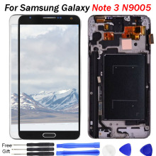 TFT screen For Samsung Galaxy Note 3 LCD Display N9005 Display Touch Screen Digitizer Assembly For Samsung Note 3 LCD Frame tool newtop toughened glass screen protector for samsung galaxy note 3 n9000 n9005 transparent