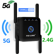 Repeater Wifi Amplifier Extender Fi-Booster Internet Long-Range 1200M Home Wireless 5G