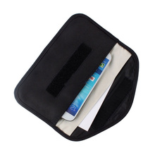 6นิ้ว GSM 3G 4G LTE GPS RF สัญญาณ RFID การปิดกั้นกระเป๋า Anti รังสีป้องกันกระเป๋ากระเป๋าสตางค์สำหรับโทรศัพท์มือถือ