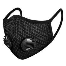 Mode coupe-vent en plein air équitation masque respiratoire lavable Pm2.5 charbon actif bouche masques masque mascarilla