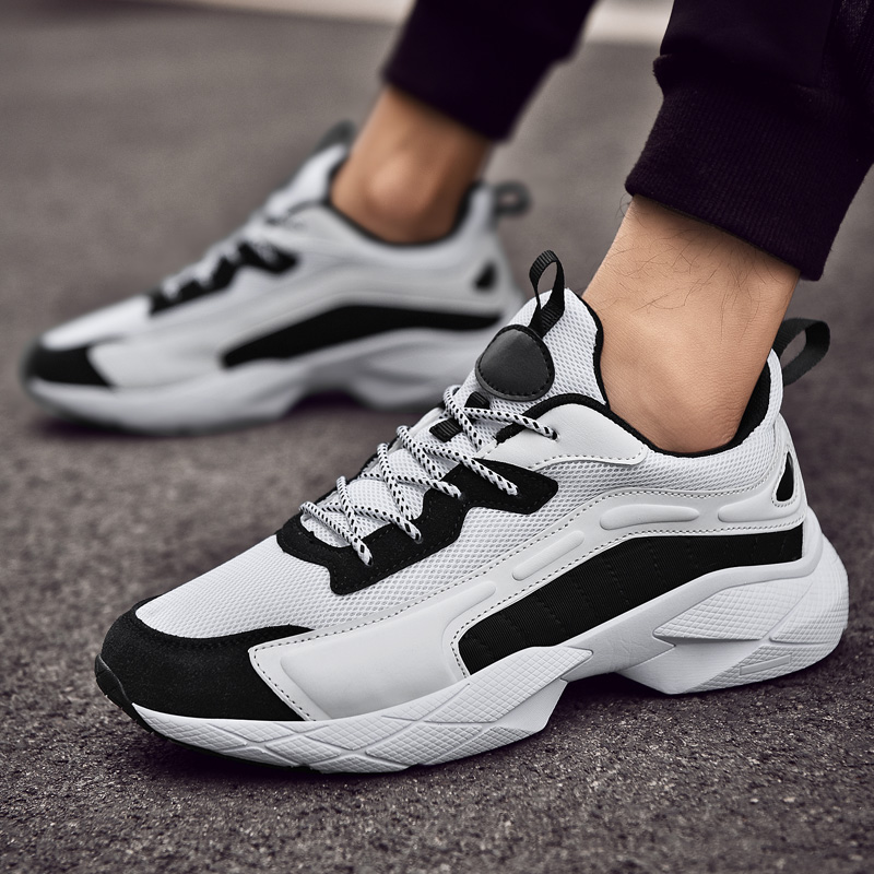 Damyuan  Running Shoes Men Sport Shoes Sneakers Men Plug Size 46 Casual Shoes Male Height Increasing Hot Fashion Jogging Shoes
