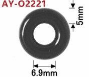 Image 5 - Tutta la vendita di alta qualità 50 pezzi di gomma oring sigilli per Toyota GDI Iniettore (AY O2221)