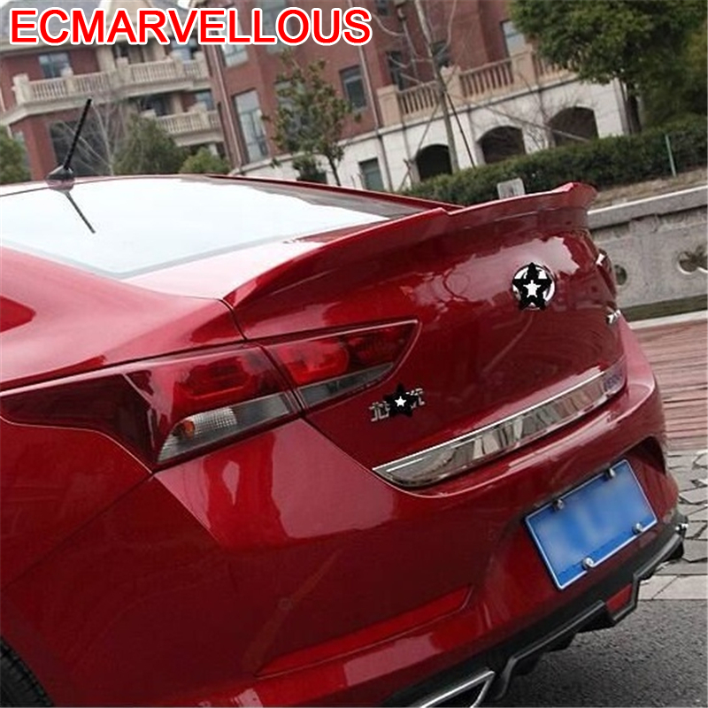 Styling Mouldings Parts Wing Accessories Automobiles Automovil Decorative Upgraded protector Car Spoilers 16 FOR Hyundai Verna