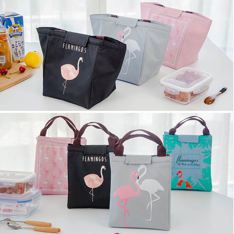 Новая сумка для хранения детского питания, бутылки с молоком, изоляционные сумки, водонепроницаемая сумка с лисой, сумка для обеда, детская теплая Термосумка для еды