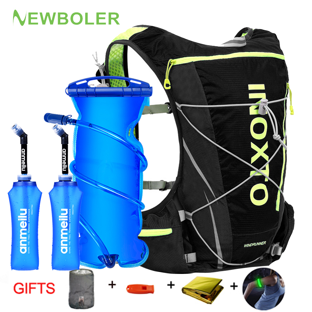 M L XL10L Running Hydration Vest Backpack Men Women Bicycle Outdoor Sport Bags Trail Marathon Jogging Cycling Hiking Backpack