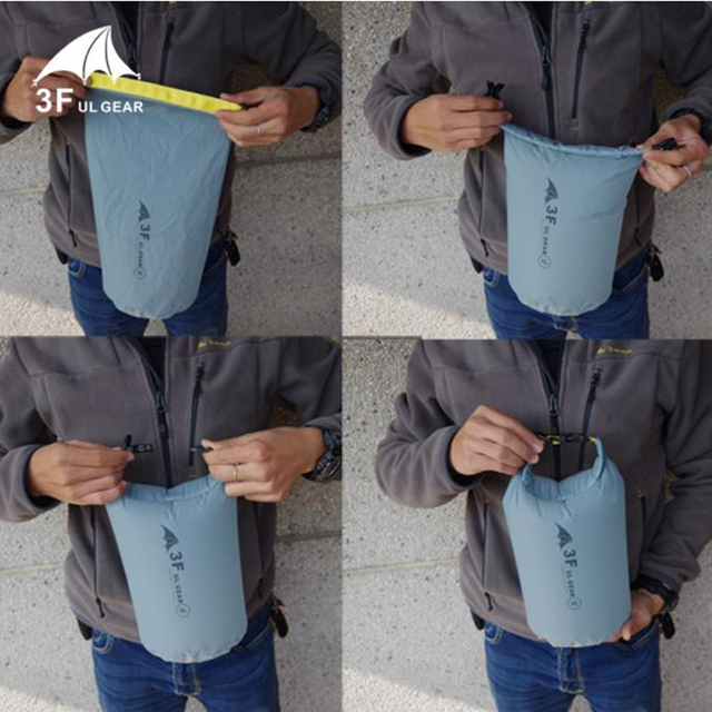 3F UL GEAR 15D 30D Ultralight drybag waterproof bag  4