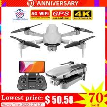 цена на SHAREFUNBAY F3 drone gps 4K 5G WiFi live video FPV quadrotor flight 25 minutes rc distance 500m drone HD wide-angle dual camera