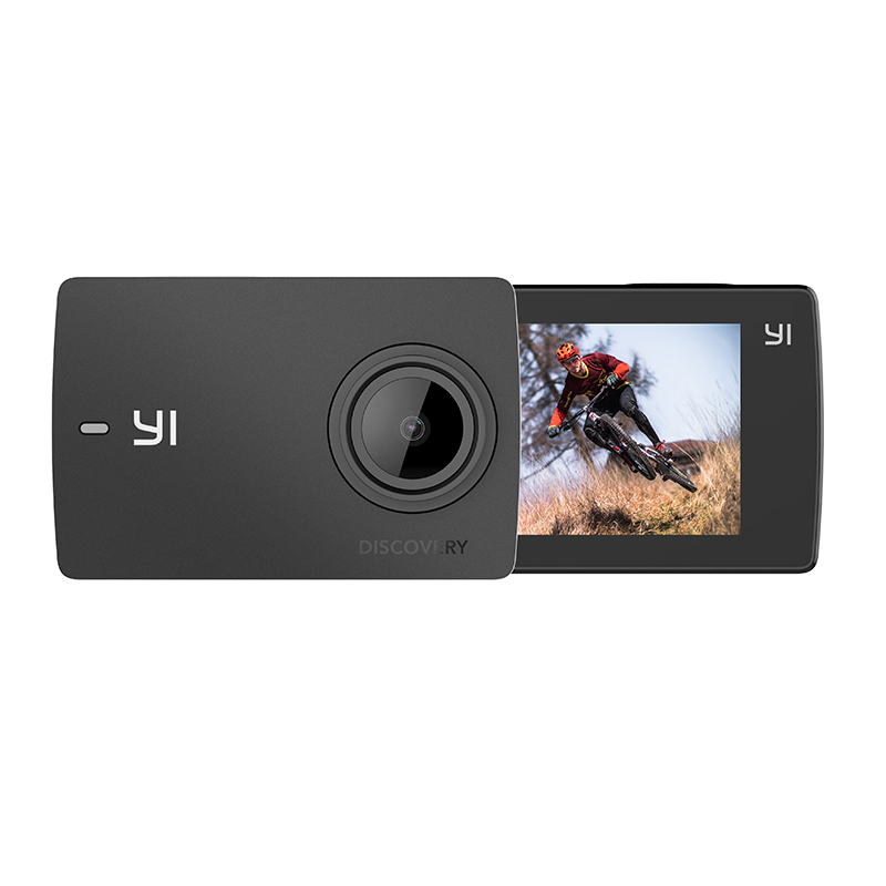 Image 5 - 【Double 11 】YI Discovery Action Camera 4K 20fps Sports Cam 8MP 16MP 2.0 Touchscreen Built in Wi Fi 150 Degree Ultra Wide Angle