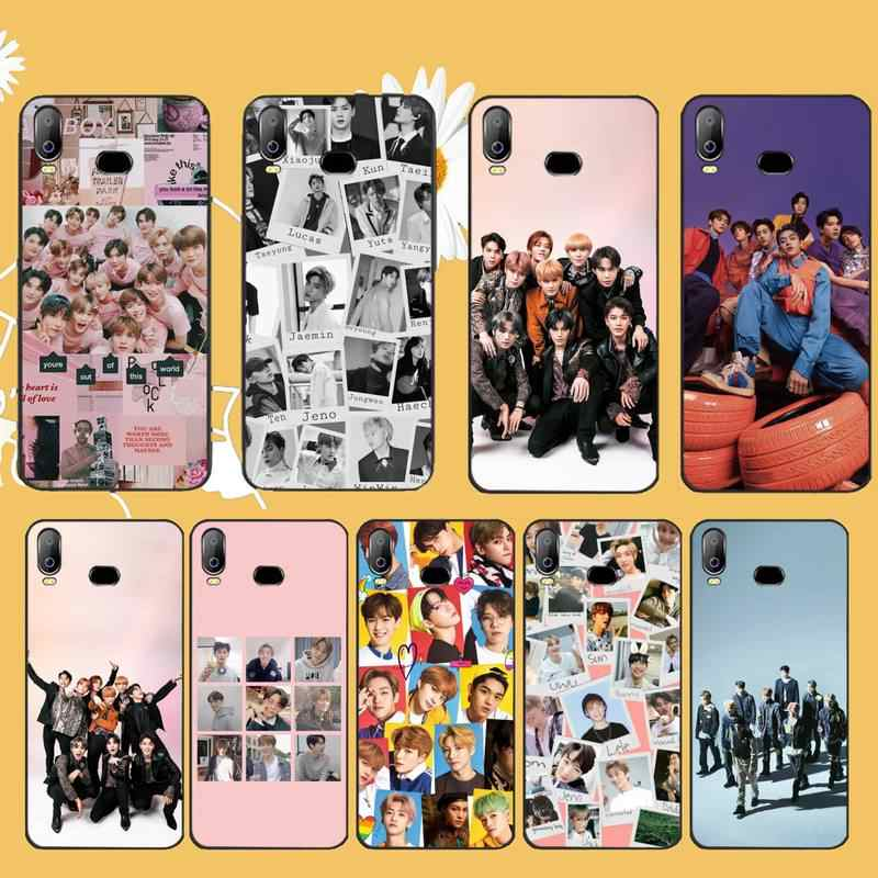 PENGHUWAN KPOP K.A.R.D MONSTA X NCT 127 Drawing DIY Luxury Phone Case For Samsung A10 A20 A30 A40 A50 A70 A71 A51 A6 A8 2018